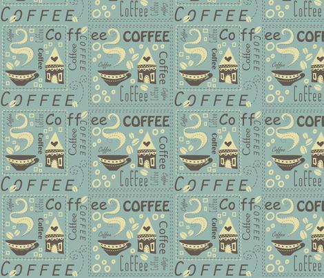 Coffee House fabric by catru on Spoonflower - custom fabric