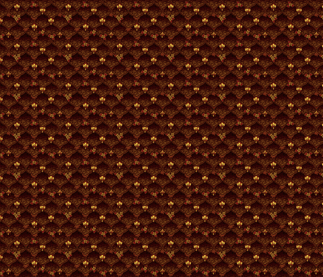 ©2011 dainty woodnymphweddingfeast fall fabric by glimmericks on Spoonflower - custom fabric