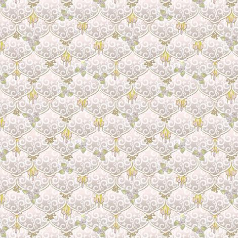 ©2011 dainty woodnymphweddingfeast aire fabric by glimmericks on Spoonflower - custom fabric