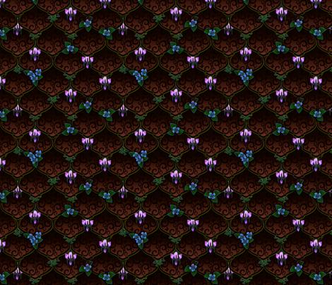 ©2011 woodnymphweddingfeast shakespeare fabric by glimmericks on Spoonflower - custom fabric