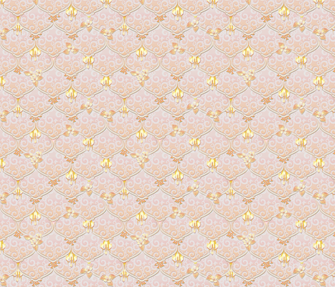 ©2011 woodnymphweddingfeast starglow fabric by glimmericks on Spoonflower - custom fabric