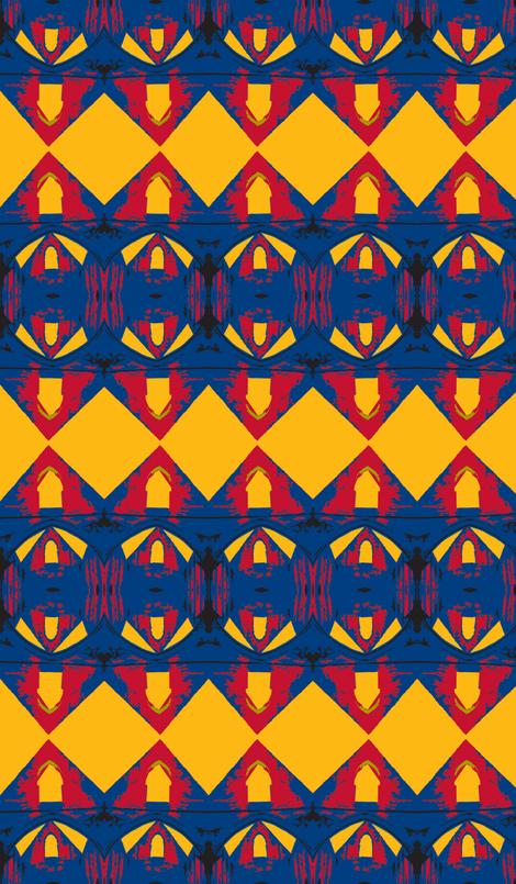 Superman's Closet fabric by susaninparis on Spoonflower - custom fabric
