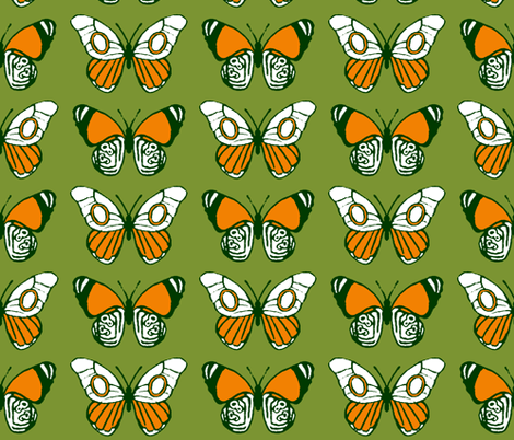 Lepidoptera fabric by shirayukin on Spoonflower - custom fabric