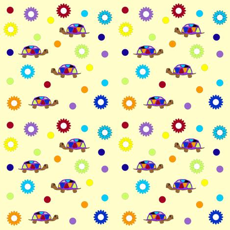 turtle fun fabric by sewbiznes on Spoonflower - custom fabric