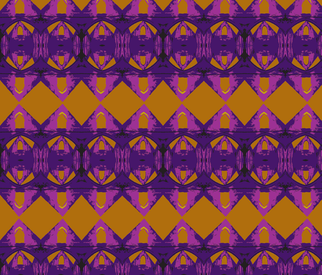 Peanut Butter and Grape Jam is a Religious Experience for Some of Us fabric by susaninparis on Spoonflower - custom fabric