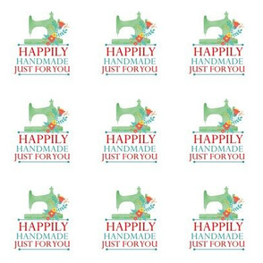 Happily Handmade Gift Label