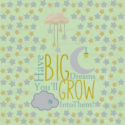 Oh Sweet Baby Big Dreams