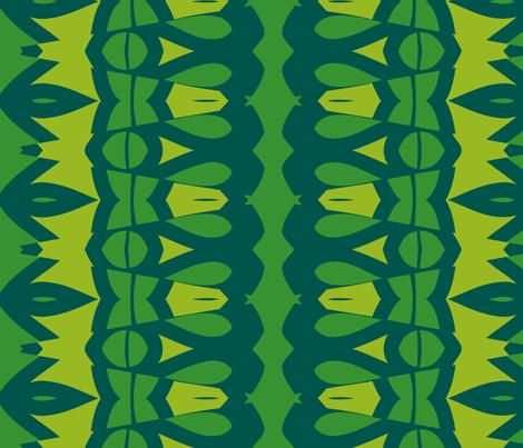 Nibs and Bows (Green) fabric by nekineko on Spoonflower - custom fabric
