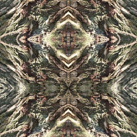 Gnarled Tree Bark 3 S fabric by animotaxis on Spoonflower - custom fabric