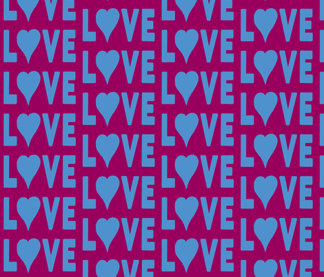 Young Love fabric by susaninparis on Spoonflower - custom fabric