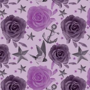 Girly Tatts Purple