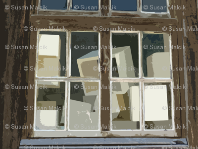 Why are there Boxes in the Window?
