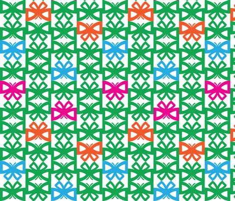 ButterflyPatternREP2 fabric by kimnb on Spoonflower - custom fabric