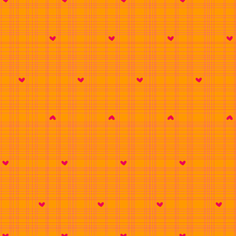 Luv-ollie Hearts fabric by jackieatweelife on Spoonflower - custom fabric