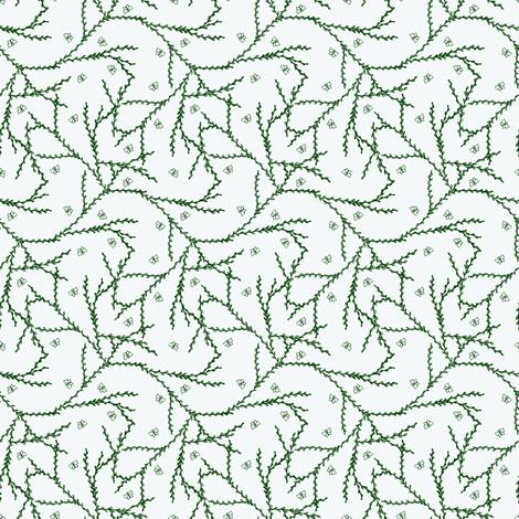Flutterby Vine. fabric by rhondadesigns on Spoonflower - custom fabric