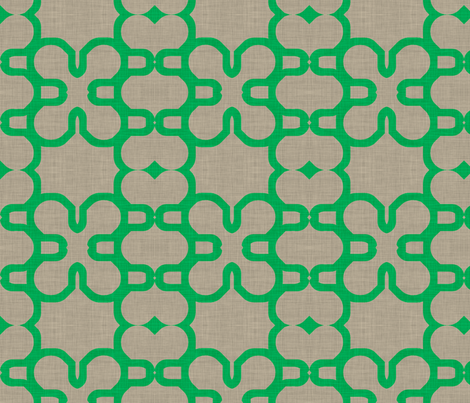kelly_lined_mosaic fabric by holli_zollinger on Spoonflower - custom fabric
