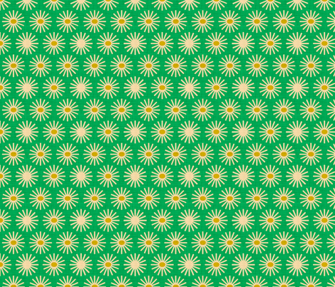 fireworks_and_sunflower_kelly fabric by holli_zollinger on Spoonflower - custom fabric