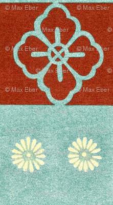 Honma Hayakuri Floral Check 1901