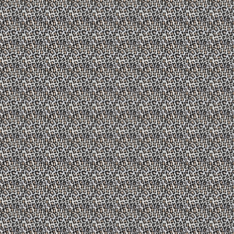 ©2011 Micro20 white leopardprint fabric by glimmericks on Spoonflower - custom fabric