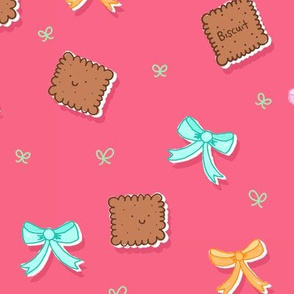 Biscuits and Bows Pink Style