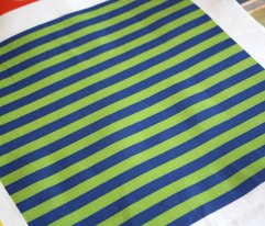 Stripe-Blue and green