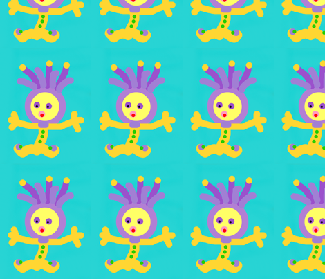 baby joker fabric by mimi&me on Spoonflower - custom fabric