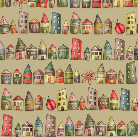 HousyLands fabric by catru on Spoonflower - custom fabric