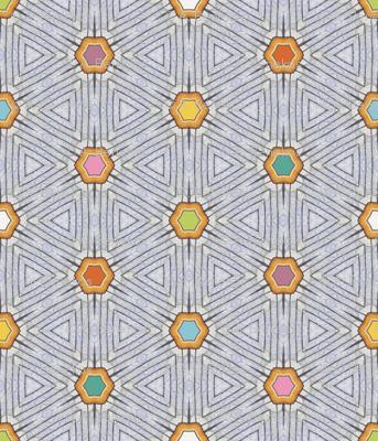 Block-Point Hexagons