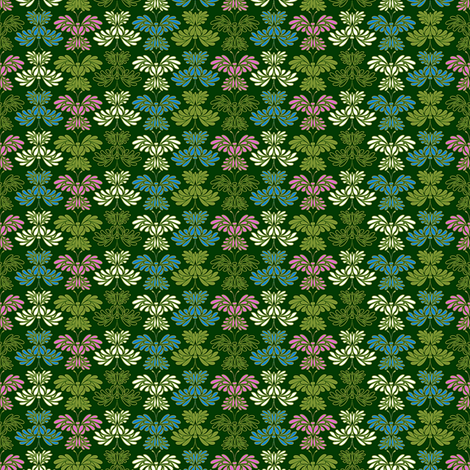© 2011 Micro20 Butterflums 02 fabric by glimmericks on Spoonflower - custom fabric