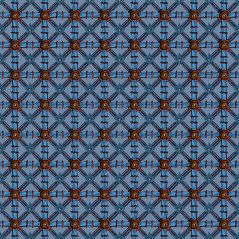 ©2011 Micro20 French Intensive fabric by glimmericks on Spoonflower - custom fabric