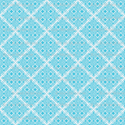 Lattice blue and white for collection