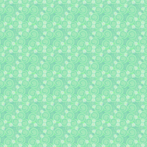 ©  2011 Elfin Sky-ed fabric by glimmericks on Spoonflower - custom fabric
