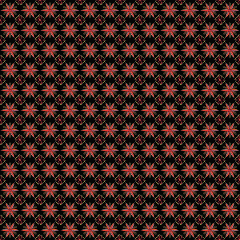 ©2011 Micro20 Nordic Fire fabric by glimmericks on Spoonflower - custom fabric