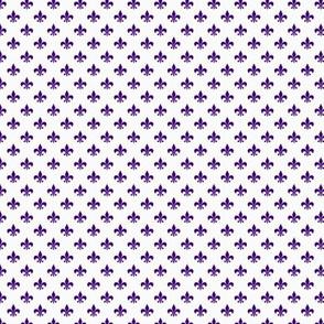 Purple FleurDeLis.