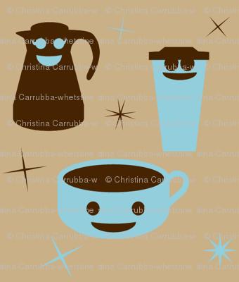 Retro Happy Coffee