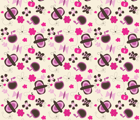 SWEET AND DAINTY fabric by sbd on Spoonflower - custom fabric
