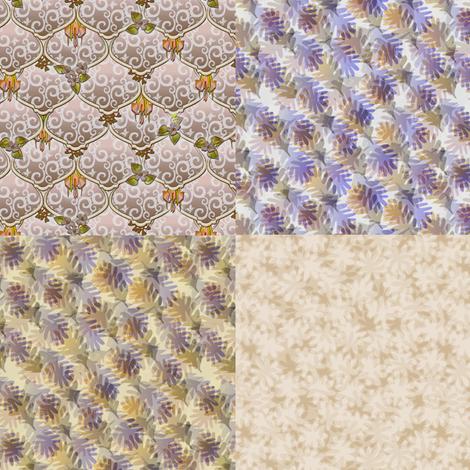 ©2011 4xFQ woodlands fabric by glimmericks on Spoonflower - custom fabric