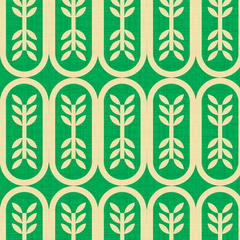 green_budding_linen fabric by holli_zollinger on Spoonflower - custom fabric