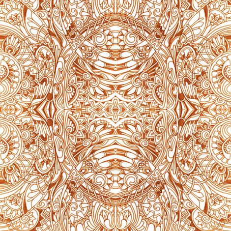 Henna  fabric by edsel2084 on Spoonflower - custom fabric