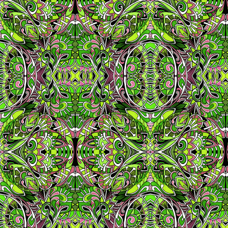 Can't See the Forest For the Pine Needles fabric by edsel2084 on Spoonflower - custom fabric