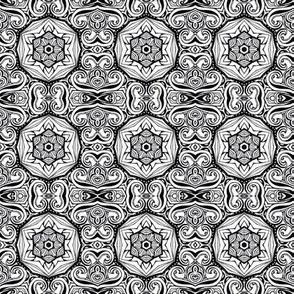 Monochrome Kaleidoscope - 6A