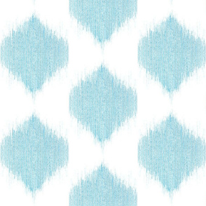 "IKAT TEARDROPS in ""OCEAN"""