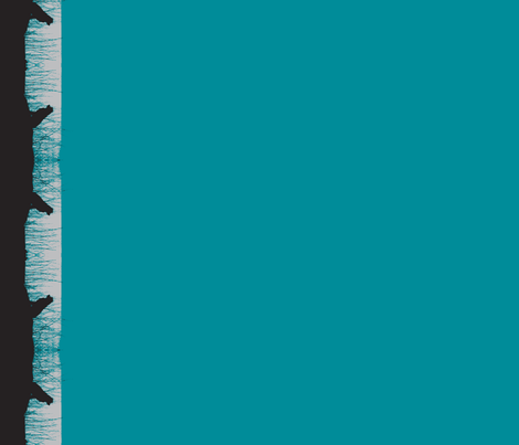 Sally-Forth teal fabric by nb_design on Spoonflower - custom fabric