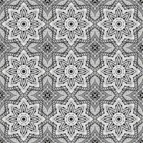 Monochrome Kaleidoscope - 3