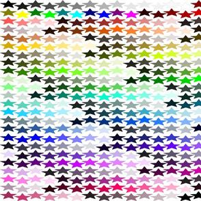 Inkscape Default Color Chart- Fat Quarter