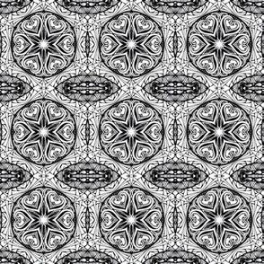 Monochrome Kaleidoscope - 5
