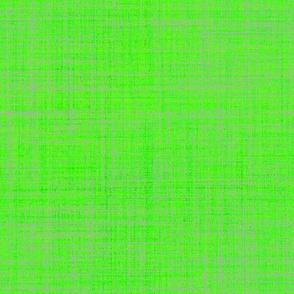 Lime faux linen