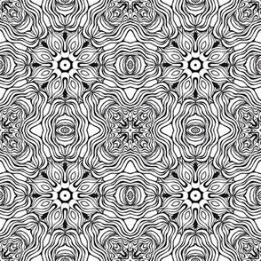 Monochrome Kaleidoscope - 7