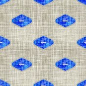Mod_blue_and_yellow_ogee_linen_zzzzz2dew2aabcdee3de2s3_on_gray_zince_blue_shop_thumb