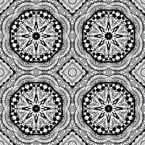 Monochrome Kaleidoscope - 2